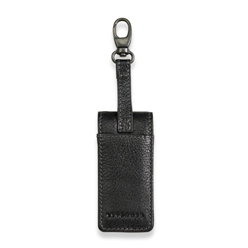Bomber Jacket Flash Drive Holder - Black