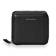 Carrie Coin and Card Wallet - Black