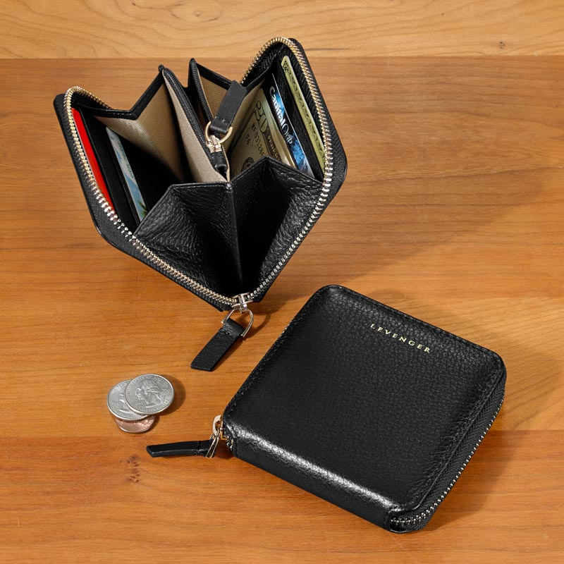 Carrie Coin And Card Wallet Levenger