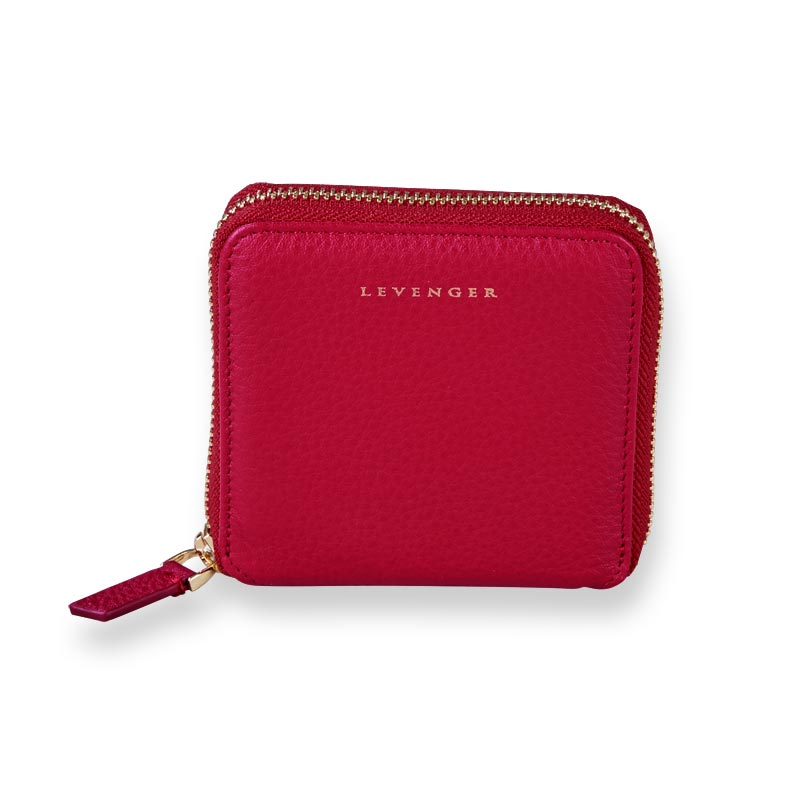Carrie Coin and Card Wallet - Chili Pepper