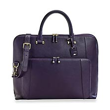 Blair Expandable Briefbag - Grape