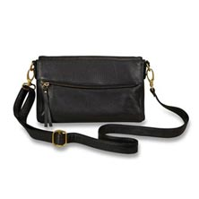 Nancy Convertible Clutch - Black