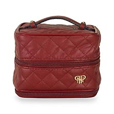 Quilted Prima Weekender - Red