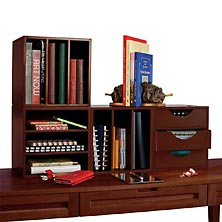 Cubi Bookcase and Drawers