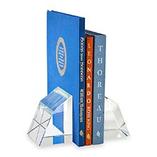 Geo Crystal Bookends (set of 2)