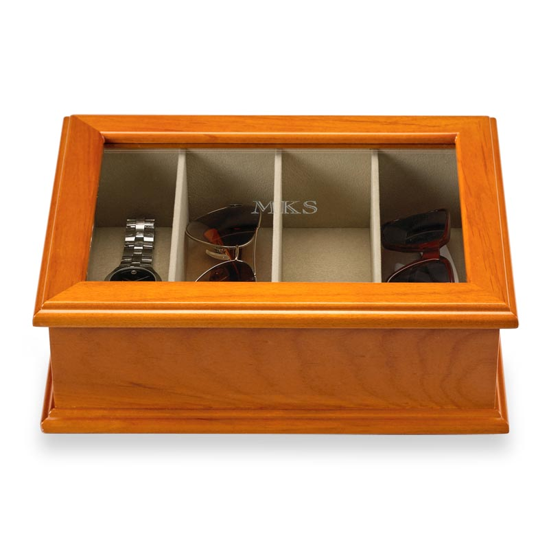 Point of View Storage Case - Natural Cherry