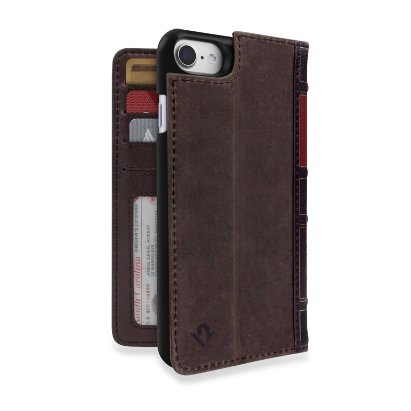 Book Book for iPhone® 7 - Brown