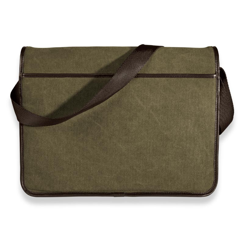 Commuter Laptop Messenger, Green