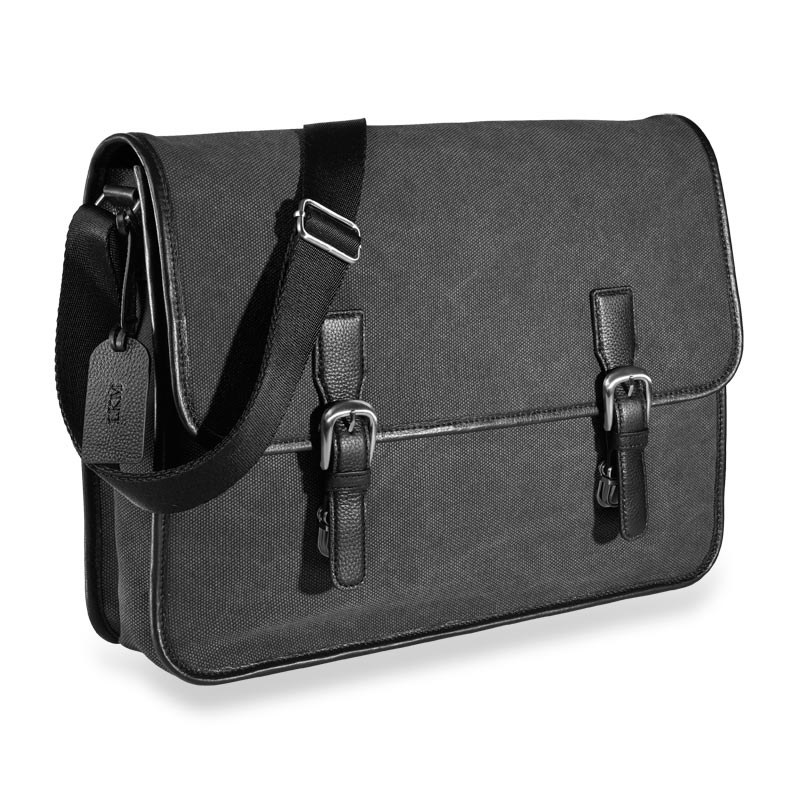 Commuter Laptop Messenger, Gray