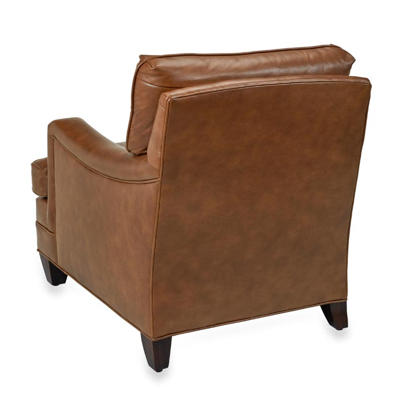 Levenger Leather Club Chair - Penny Lane