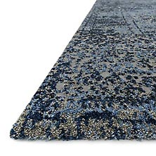 Viera Rug - Light Blue/Grey