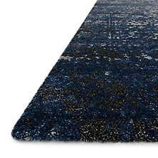 Viera Rug - Grey/Navy