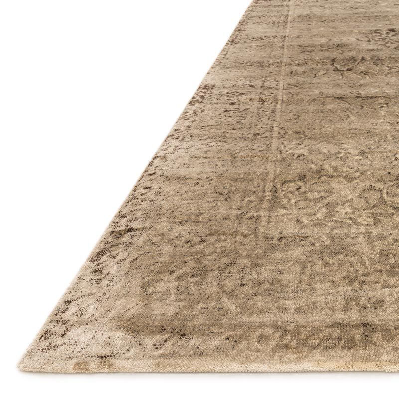 Nyla Rug - Sand/Dark Brown