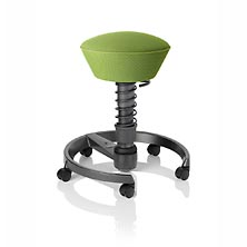 Swopper Air with Wheels, Lime Green