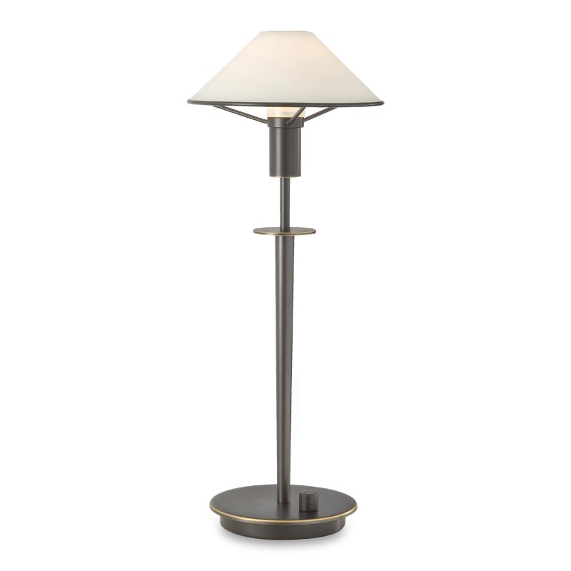 Little Star Table Lamp, Hand-Finished Bronze, True White