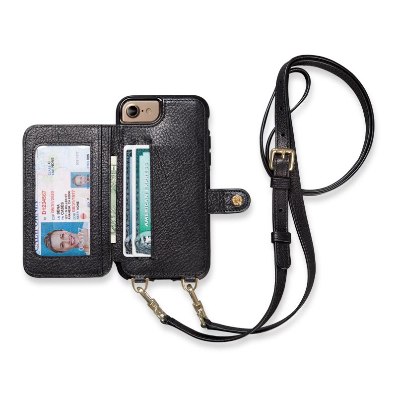 new product 1c754 82d85 iPhone 7/8 Crossbody Case - Levenger