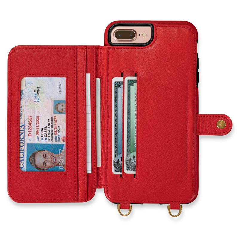 iPhone 7/8 Plus Crossbody Snap-On Case