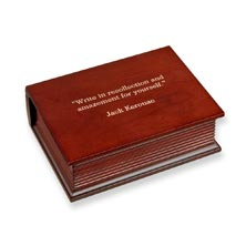 Mini Commemorative Book Box