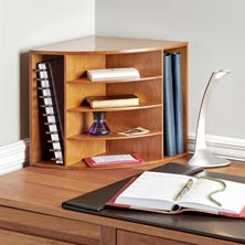 Cubi Corner Desk Book Case