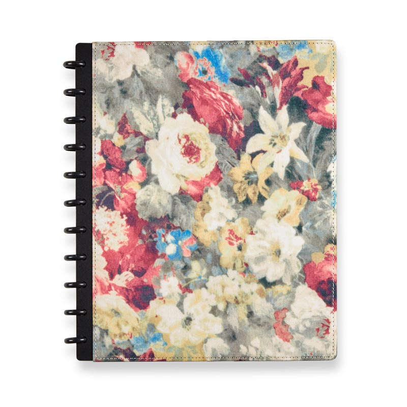 Circa® Watercolor Floral Foldover Notebook