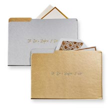 Wedding File Folder