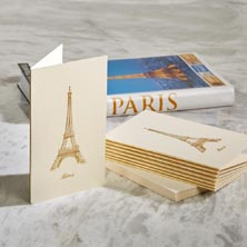Eiffel Tower Thank You Note