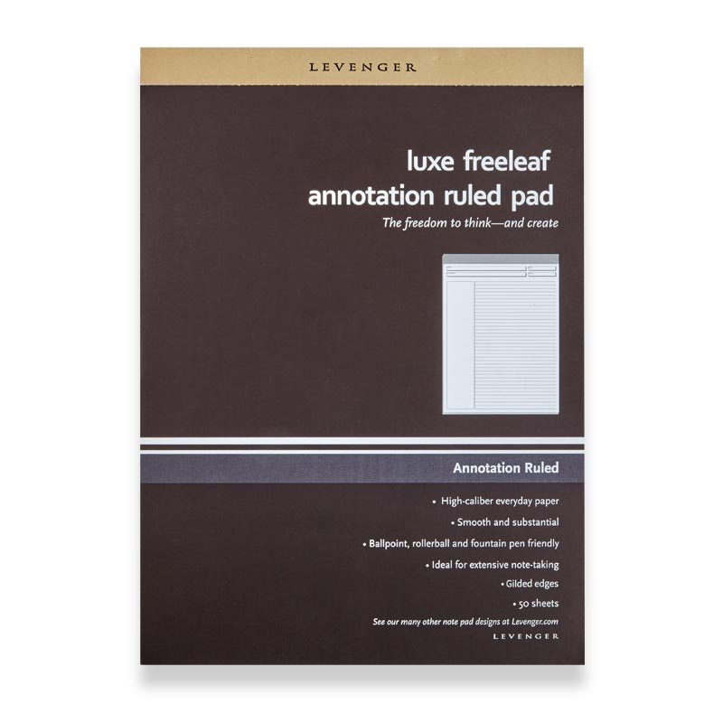 Luxe Freeleaf Annotation Ruled Pads