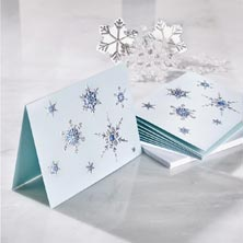 Snowflake Medley Holiday Card