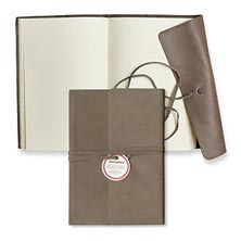 Journalino Large Notebook - Gray