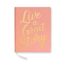 Live a Great Story Desk Journal