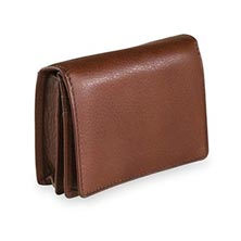 Deluxe Card Wallet – Brandy
