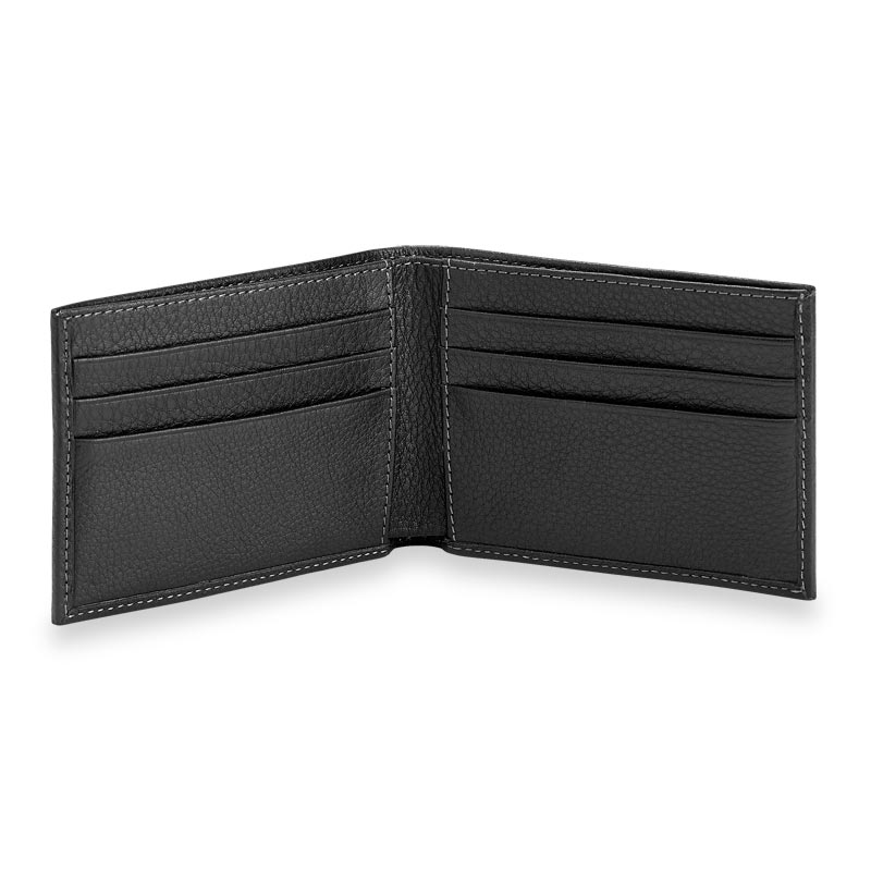 Bomber Jacket Slim Wallet With Rfid Protection Levenger