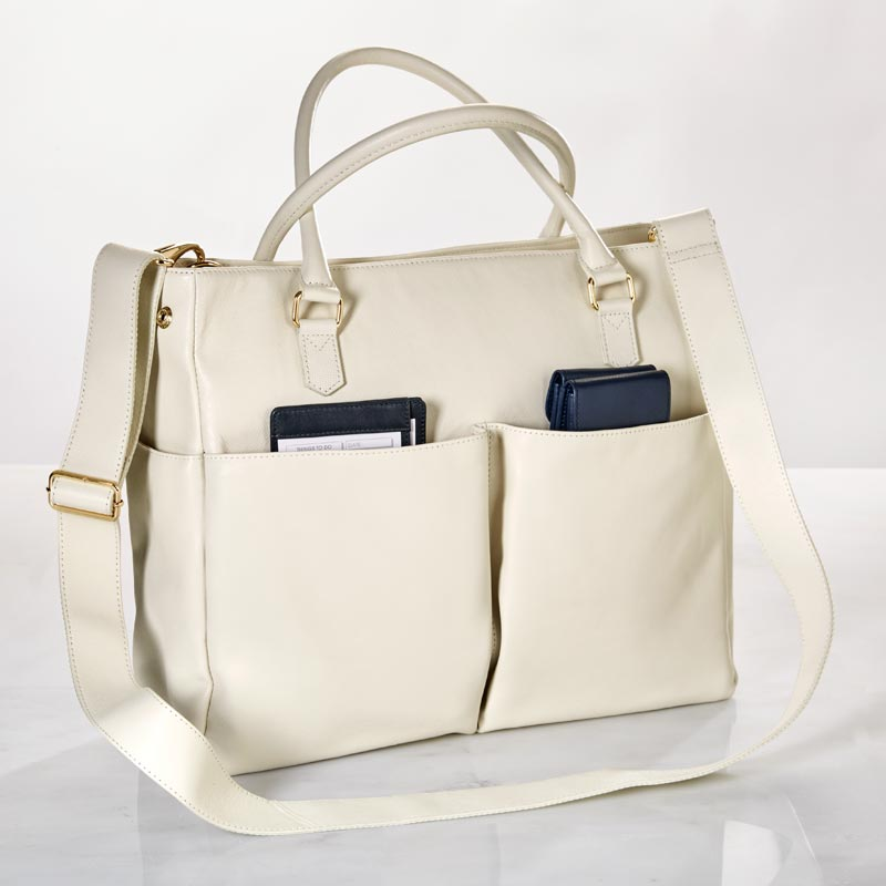 Charlotte Tote, Leather
