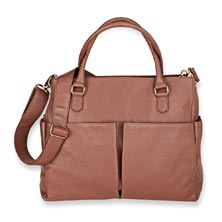 Charlotte Tote, Leather - Rose Taupe