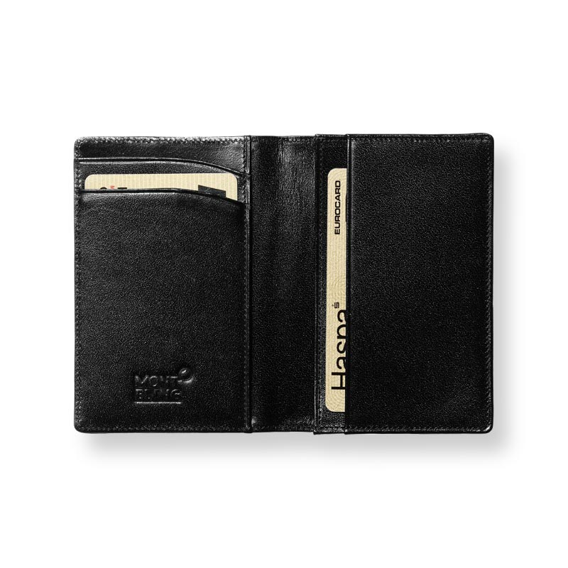 a61f27fda616e7 Montblanc Meisterstuck Business Card Holder with Gusset
