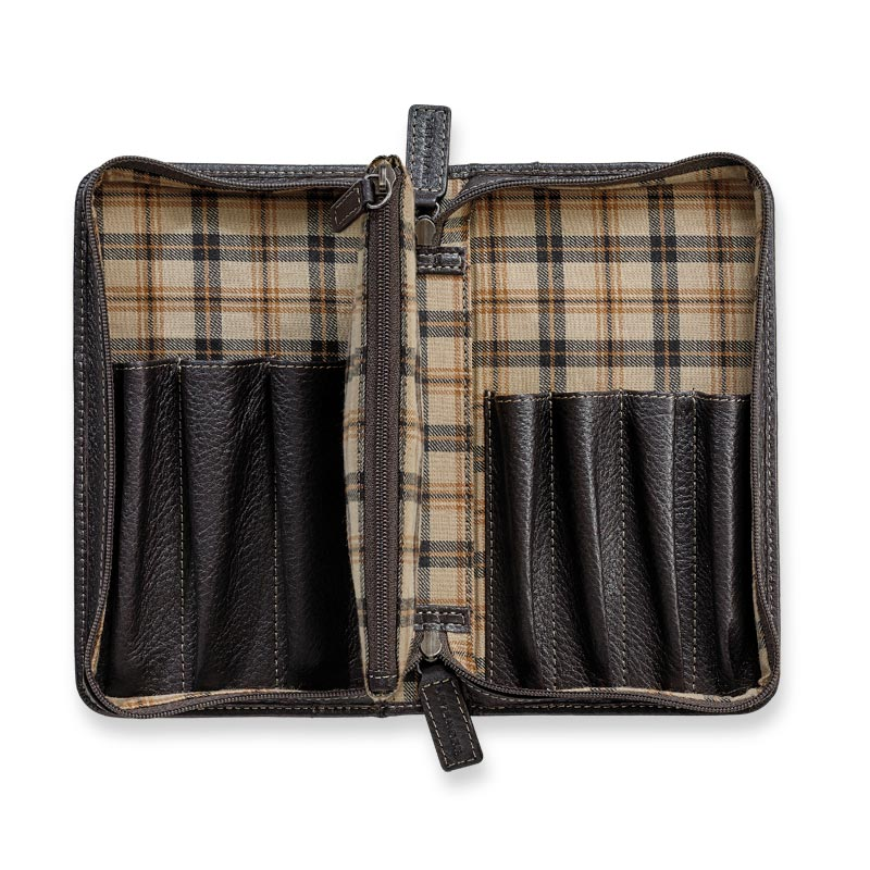 Bomber Jacket Pen Case with Pouch