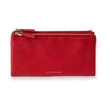 Carrie Cash & Card Clutch - Chili Pepper