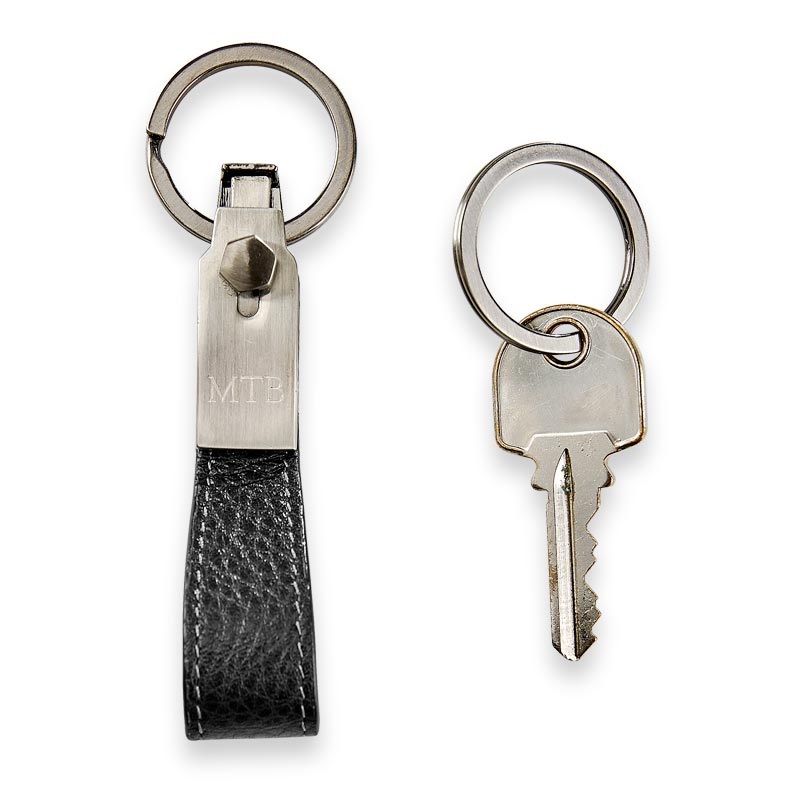 Bomber Jacket Key Chain