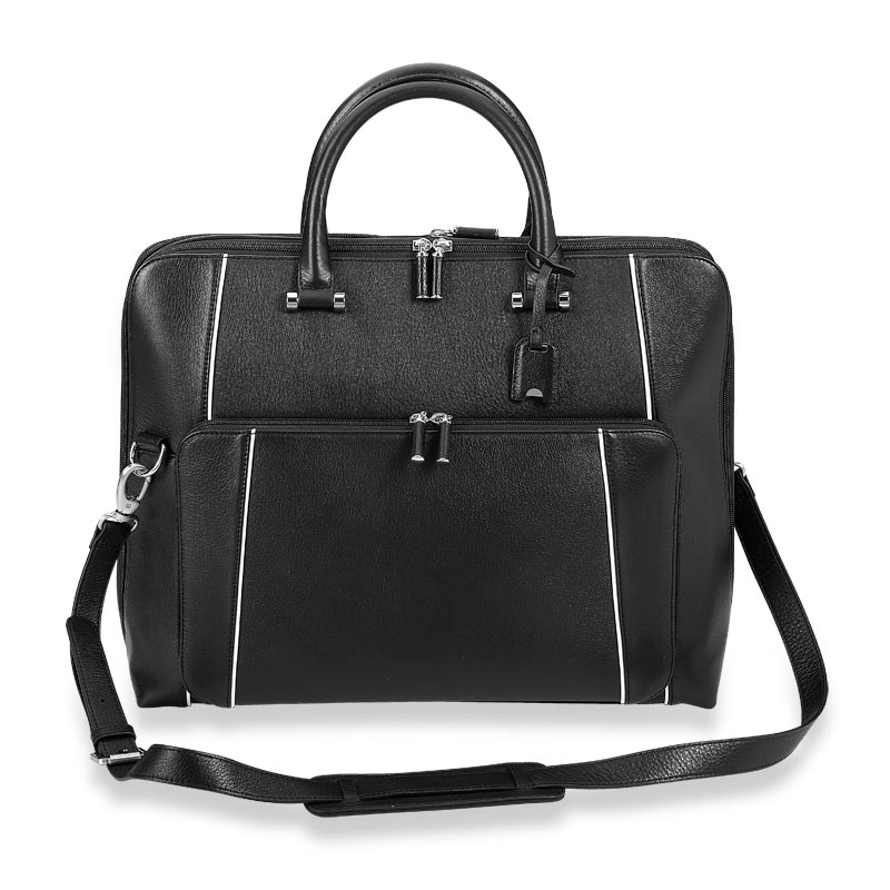 Classic Contrast Blair Expandable Briefbag