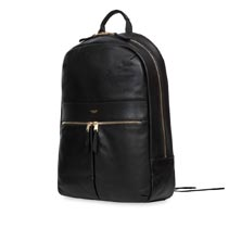 "Knomo Beaux 14"" Leather Backpack"