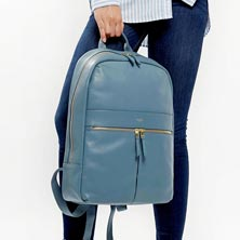 """Knomo Beaux 14"""" Leather Backpack"""
