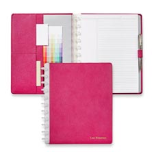 Bright Ideas Circa® Leather Foldover Notebook