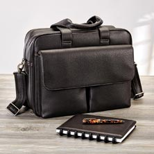 Bomber Jacket Utility Briefcase