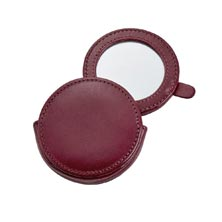 Leather Travel Mirror