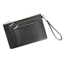 Leather RFID Crossbody Bag