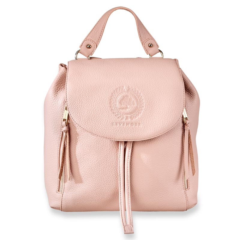 Legacy Leather Backpack - Blush