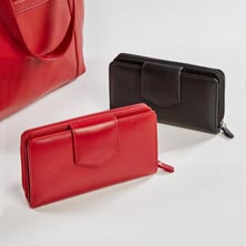 Sutton Leather RFID Wallet