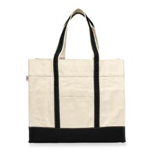 Large Canvas Shopping Tote