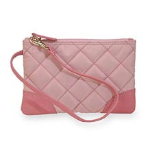 Charlotte Pouch, Quilted Nylon