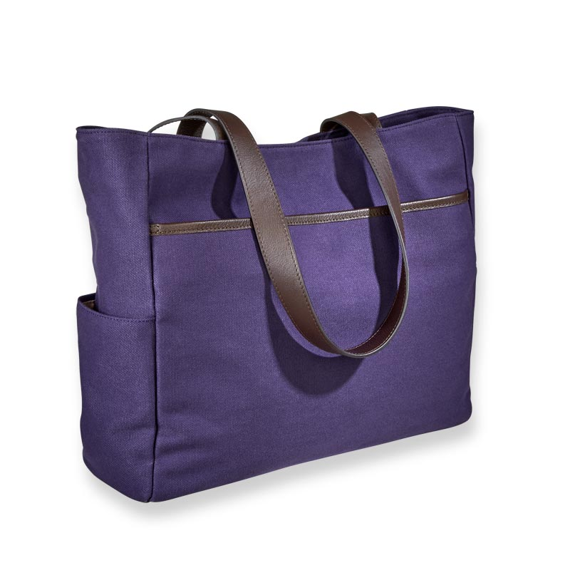 Readers Canvas Tote
